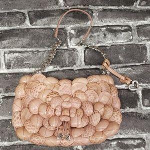Brighton Roselie Pink Leather Bag,